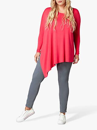 Live Unlimited Curve Asymmetric Jersey Top
