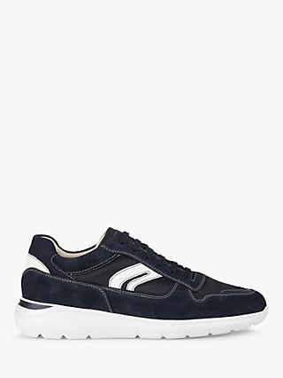 Geox Sestiere Suede Trainers, Navy