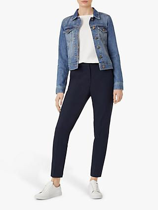 Hobbs Mariam Short Denim Jacket