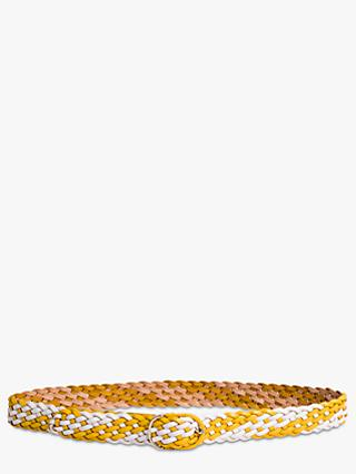 Gerard Darel Madras Belt, Yellow