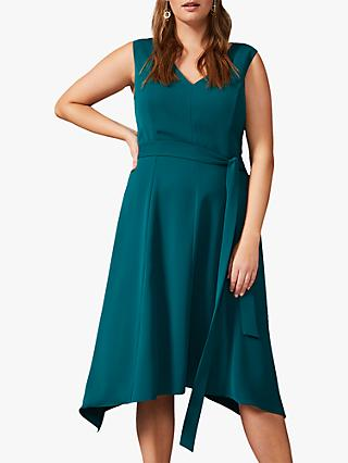 Studio 8 Aster Asymmetrical Dress, Jade