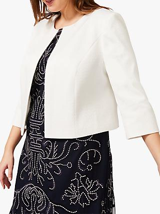Studio 8 Julia Textured Jacket, Ivory