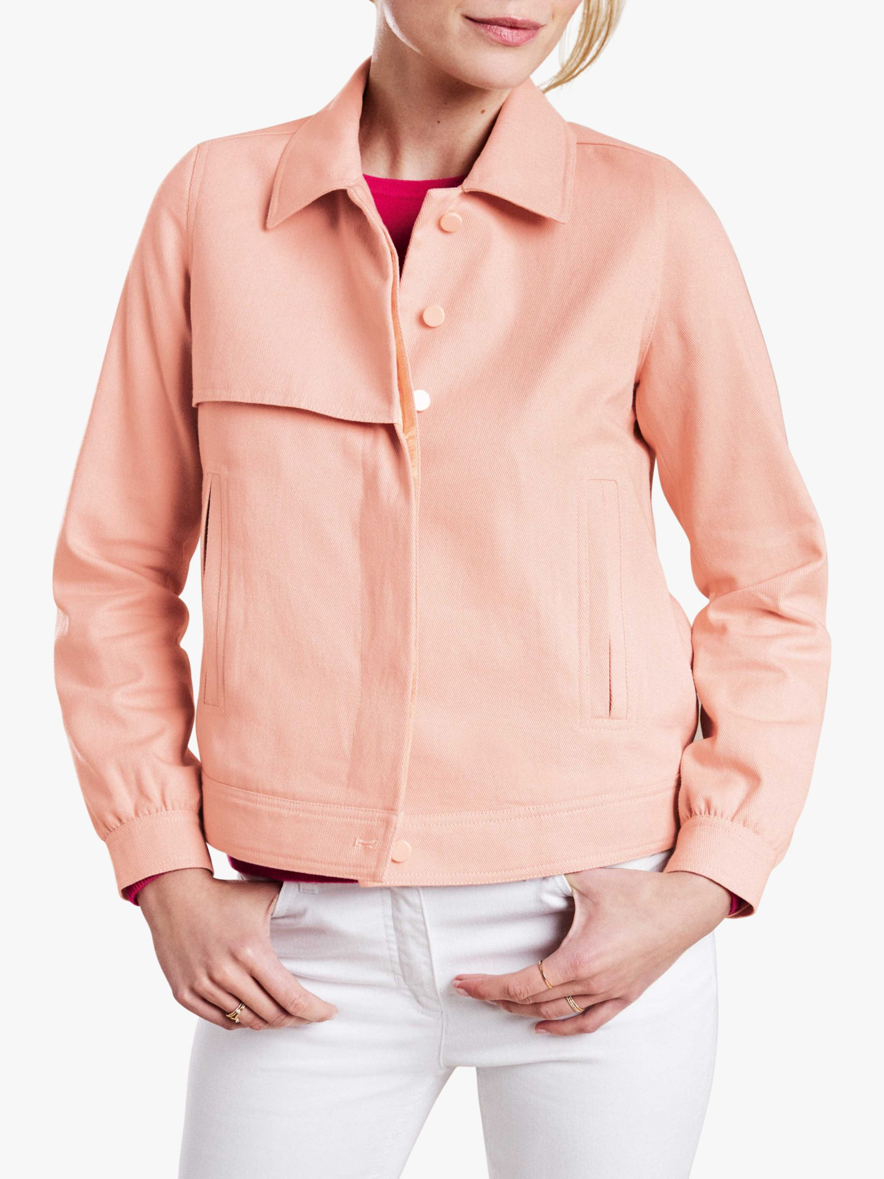 Pure Collection Pure Collection Collared Twill Jacket