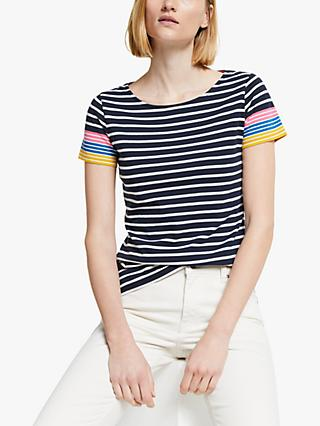 Boden Breton Short Sleeve Top