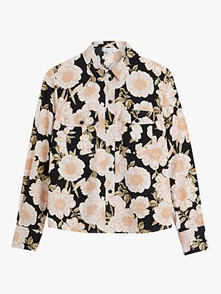Warehouse Gardinia Floral Shirt, Multi