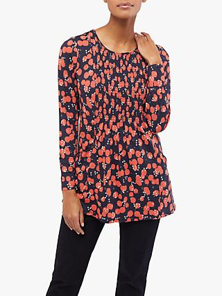 White Stuff Theo Jersey Tunic, Coral Red