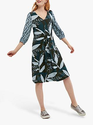 White Stuff Amelia Print Dress, Navy