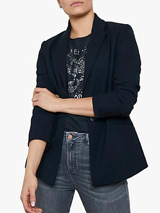 Mint Velvet Single Breasted Blazer