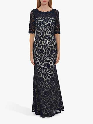 Gina Bacconi Selinda Lace Maxi Dress