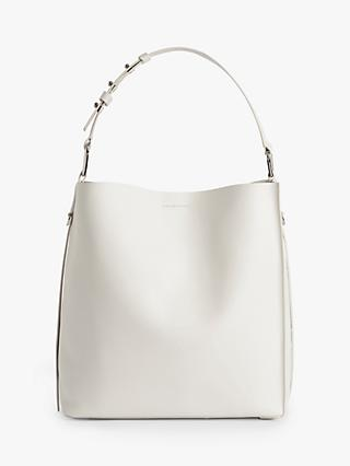 AllSaints Celadine North South Large Leather Tote Bag