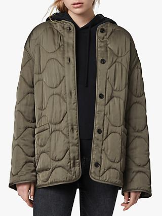 AllSaints Torin Quilted Jacket