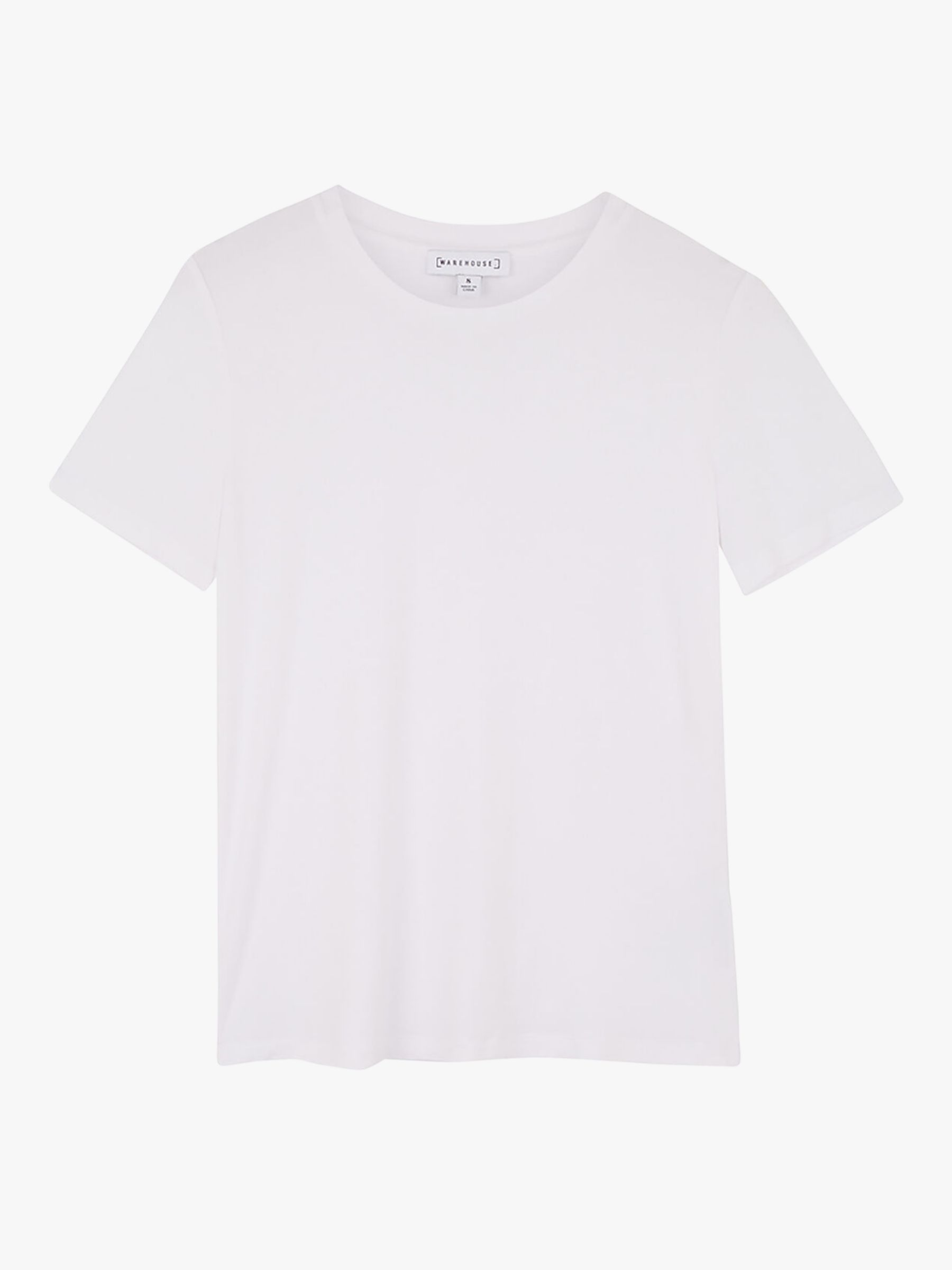 Buy Warehouse Smart T-Shirt, White, 6 Online at johnlewis.com