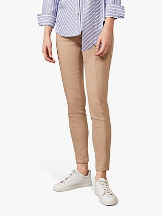 Phase Eight Amina Seamed Jeggings, Stone