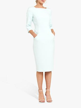 Helen McAlinden Olivia Pencil Dress, Mint
