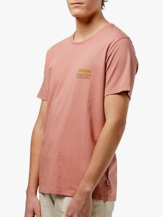 Edmmond Studios La Vie Simple Surf T-Shirt, Pink