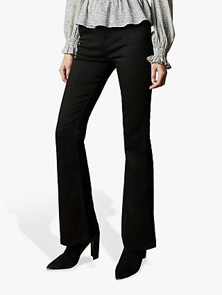 Ted Baker Flared Jeans, Black
