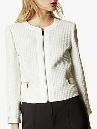 Ted Baker Jenniah Jacket, Natural Ivory