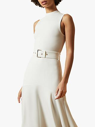 Ted Baker Corvala Belted Dress, Ivory