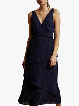Ted Baker Melodi Pleat Tiered Dress