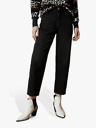 Ted Baker Erito Straight Jeans, Black
