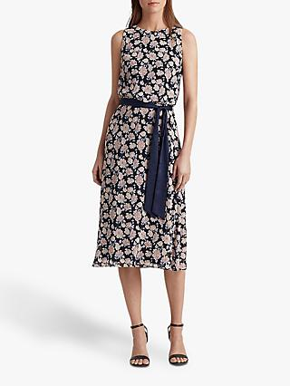 Lauren Ralph Lauren Jasper Flora Print Dress, Multi