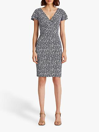 Lauren Ralph Lauren Pica Abstract Print Mini Dress, Multi