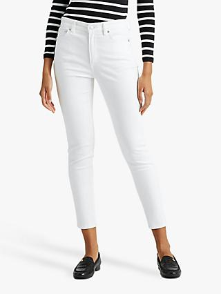 Lauren Ralph Lauren Regal Skinny Jeans, Perfect White Wash