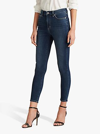 Lauren Ralph Lauren Regal Skinny Jeans, True Indigo Wash