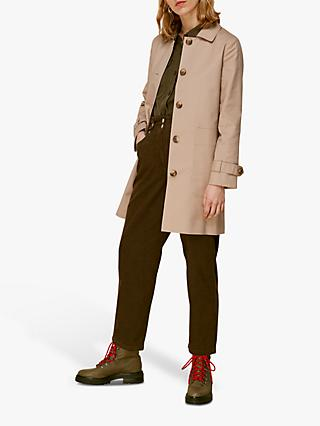Whistles Classic Trench Coat, Neutral