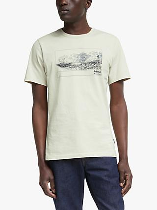 Barbour Broadrock Chest Graphic T-Shirt, Neutral