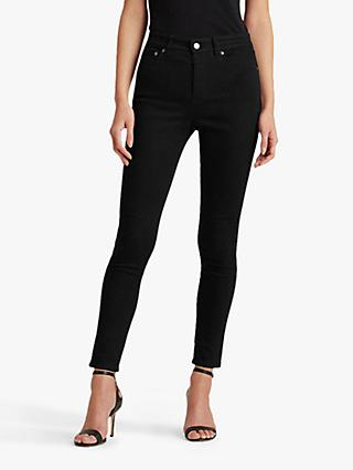 Lauren Ralph Lauren Regal Skinny Jeans, Perfect Black Wash