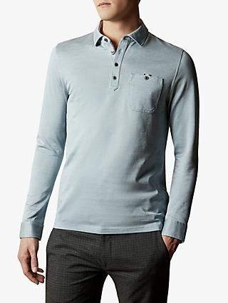Ted Baker Amuse Long Sleeve Oxford Polo Shirt