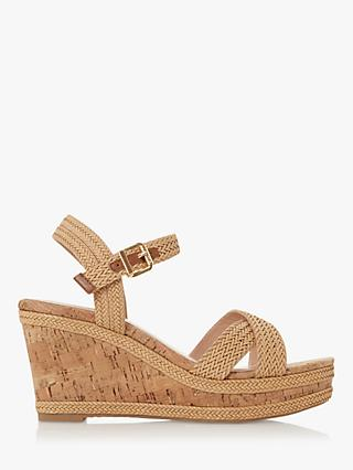Dune Kelisa Braided Wedge Heel Sandals