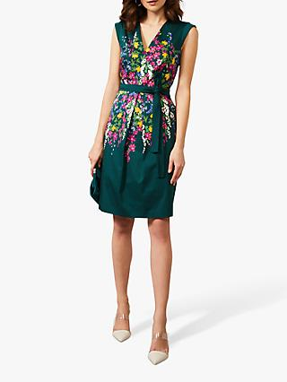 Phase Eight Tilda Foral Dress, Jade/Multi