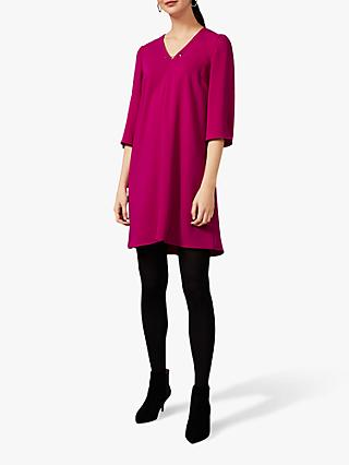 Phase Eight Elmira Swing Dress, Magenta