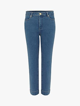 Phase Eight Ramona Straight Leg Jeans, Blue