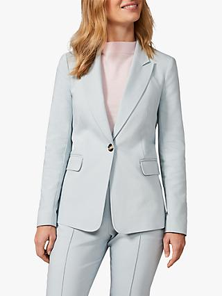 Phase Eight Ulrica Seamed Jacket, Pale Blue
