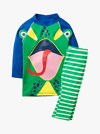 Mini Boden Boys' Surf Suit, Shamrock Green