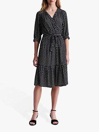 Gerard Darel Sasha Spotted Midi Dress