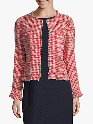 Betty Barclay Textured Jacket, Rosè