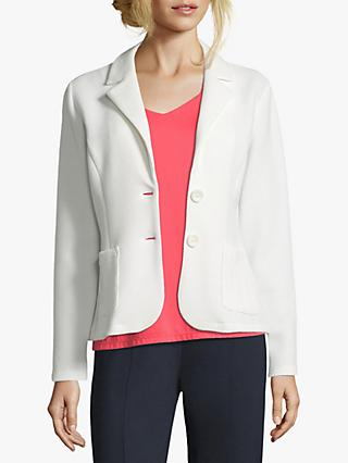 Betty Barclay Unlined Waffle Blazer