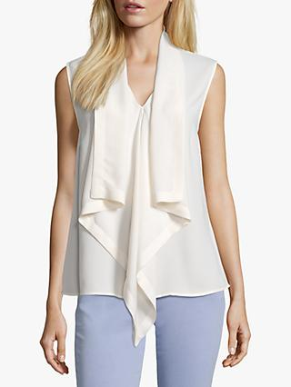 Betty Barclay Sleeveless Blouse, Offwhite