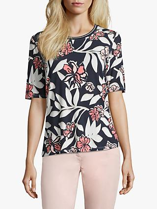 Betty Barclay Floral Leaf Print Tee