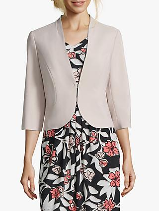 Betty Barclay Short Tailored Jacket, Light Beige