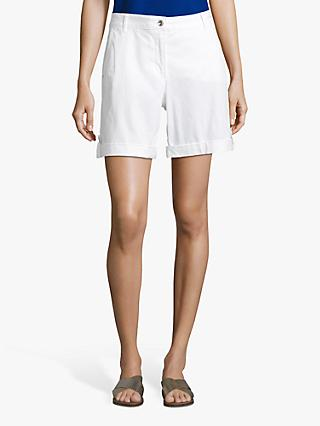 Betty Barclay Cotton Shorts, Bright White