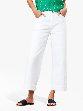 Joules Connie Wide Leg Cropped Jeans