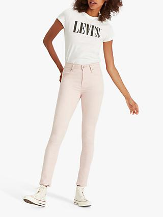 Levi's 721 High Rise Skinny Jeans, Sepia Rose