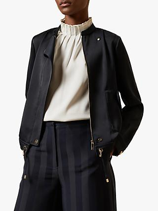Ted Baker Gatria Zip Jacket, Navy