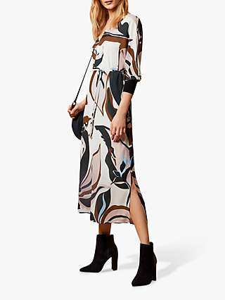 Ted Baker Diyona Abstract Dress, Multi