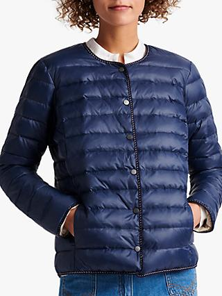 Gerard Darel Roxanna Quilted Reversible Jacket